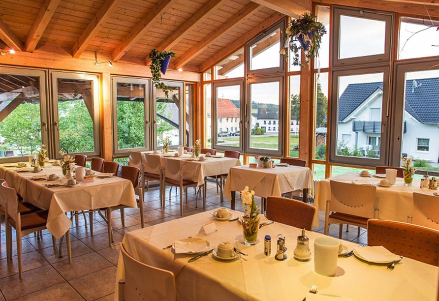 Hotel Sonnenhof und Sonnhalde in Ühlingen-Birkendorf im Schwarzwald, Restaurant