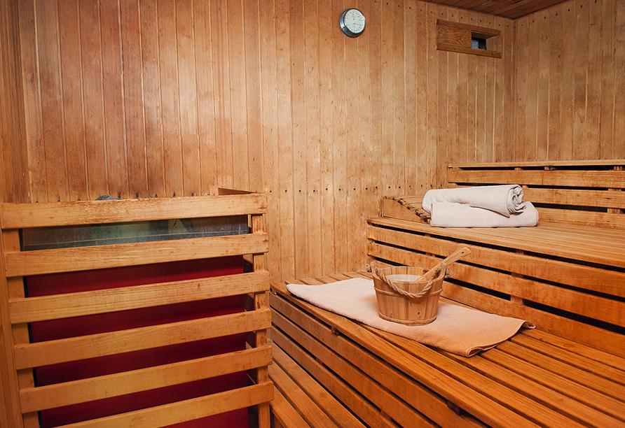 Hotel Sonnenhof und Sonnhalde in Ühlingen-Birkendorf im Schwarzwald, Sauna