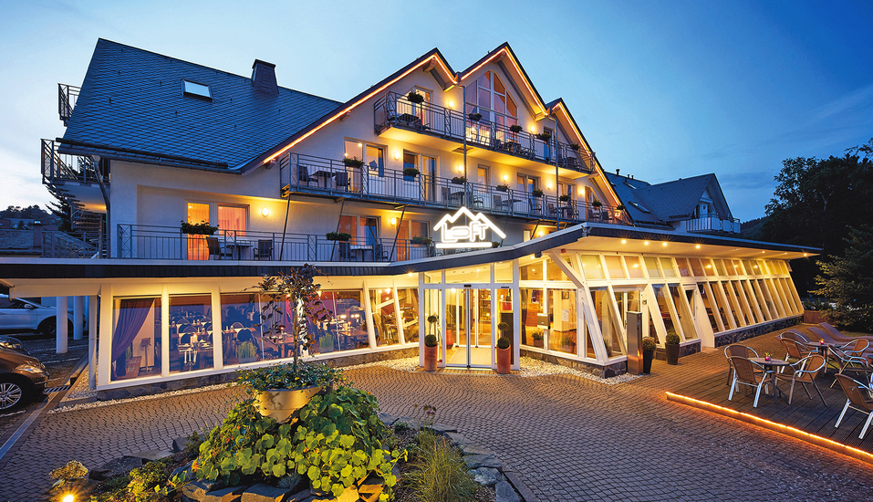 DAS Loft Hotel in Willingen, Außenansicht