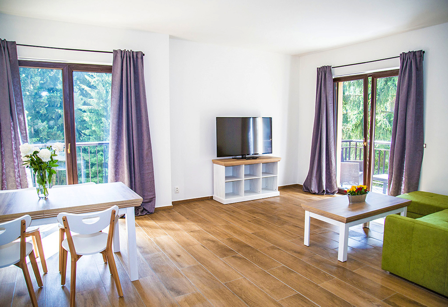 Spa & Wellness Hotel St. Moritz, Appartement