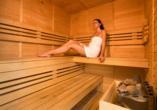 Spa & Wellness Hotel St. Moritz, Sauna