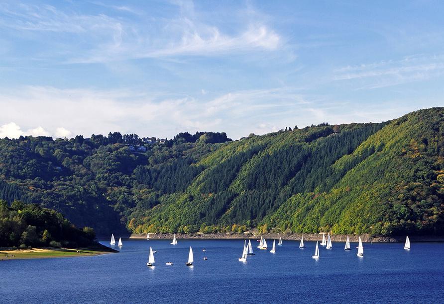 Hotel Haus am See in Simmerath-Einruhr, Ausflugsziel Rursee