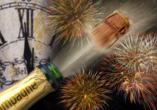 DCS Amethyst, Silvester feiern