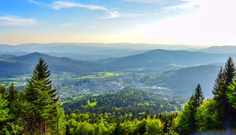 Hotel Stark in Ringelai im Bayerischen Wald, Startplatz Hochzell