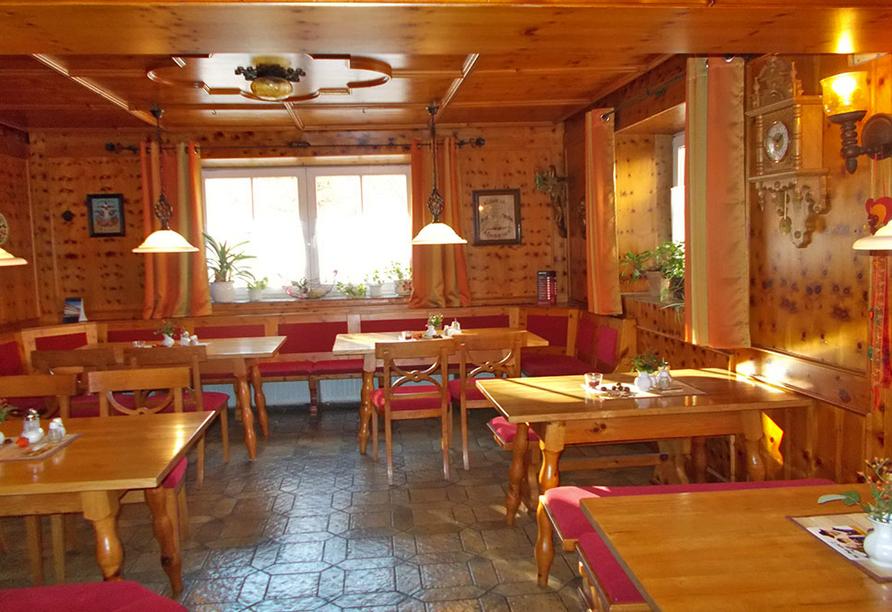 Hotel Stark in Ringelai im Bayerischen Wald, Restaurant