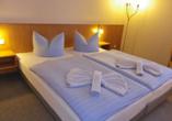 Hotel Jägerhof in Lancken-Granitz auf Rügen, Zimmer