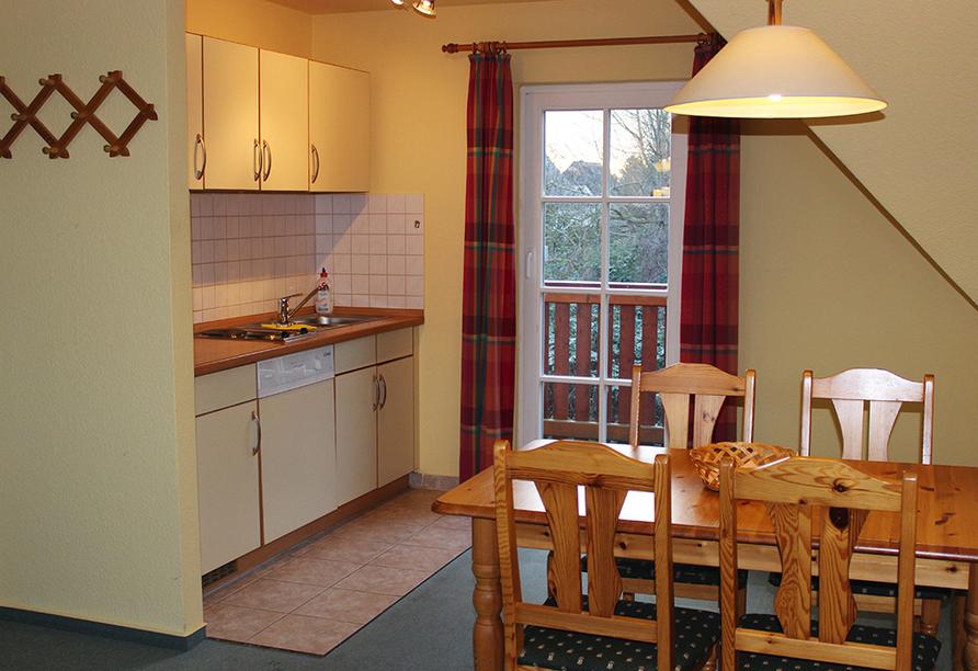 Hotel Jägerhof, Küche Appartementhaus