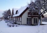 Hotel Jägerhof, Außenansicht Winter