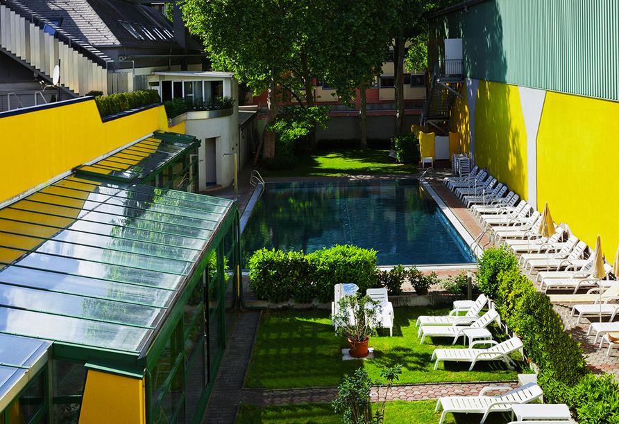 Vienna Sporthotel in Wien, Außenbereich