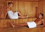 Vienna Sporthotel in Wien, Sauna