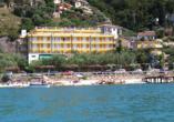 Hotel Internazionale in Torri del Benaco am Gardasee Außenaufnahme