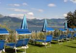 Hotel Internazionale in Torri del Benaco am Gardasee, Ausblick auf den See
