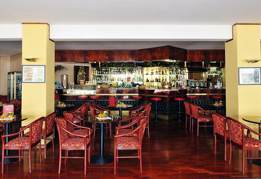 Hotel Internazionale in Torri del Benaco am Gardasee, Bar