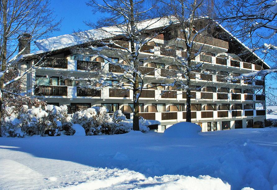 Landhotel Seeg, Winter