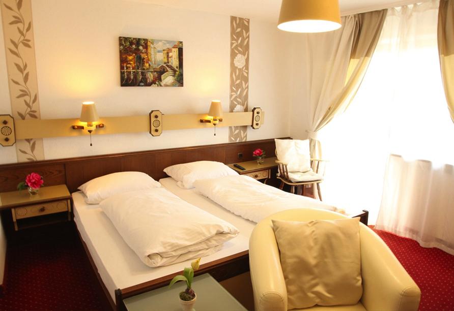 Hotel Würdinger Hof in Bad Füssing im Bäderdreieck, Beispiel Doppelzimmer