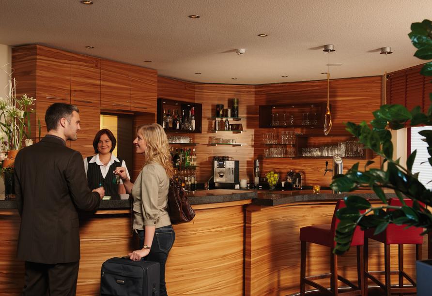 Parkhotel Neustadt in Neustadt in der Sächsischen Schweiz Bar & Rezeption