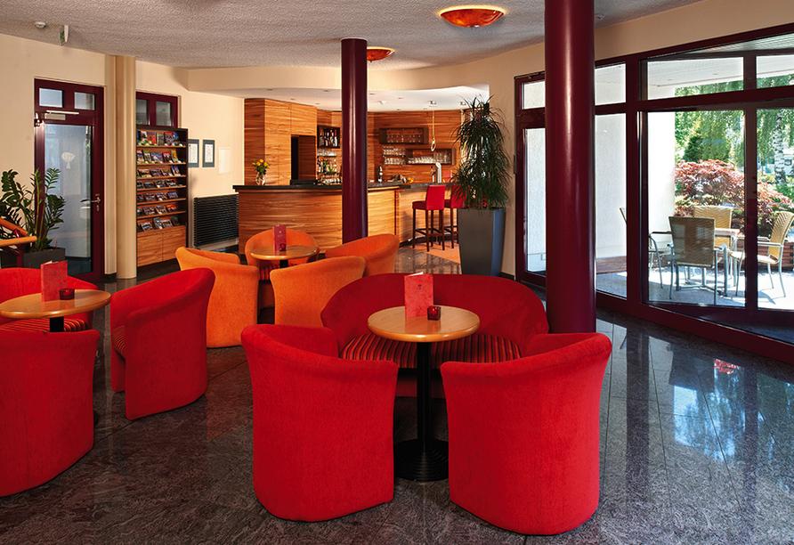 Parkhotel Neustadt in Neustadt in der Sächsischen Schweiz Lobby
