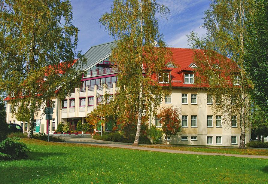 Parkhotel Neustadt in Neustadt in der Sächsischen Schweiz Außenansicht