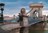MS Ariana,  Kettenbrücke Budapest