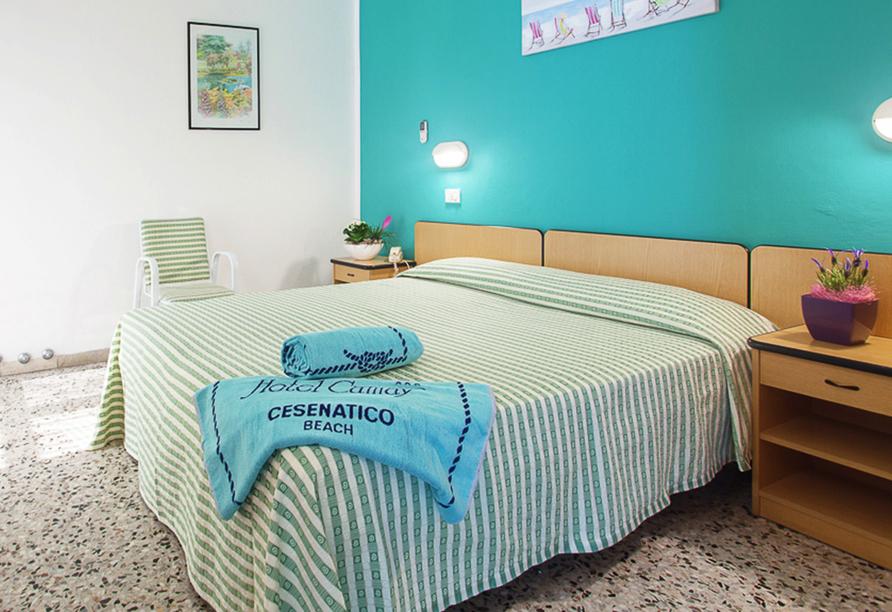 Hotel Camay in Cesenatico, Adria, Italien, Zimmerbeispiel