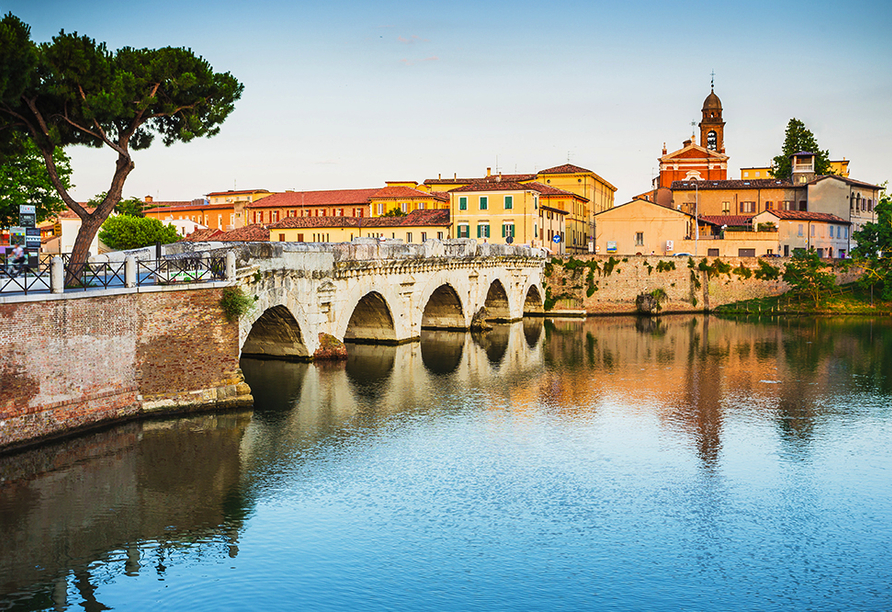 Hotel Camay in Cesenatico, Adria, Italien, Ausflugsziel Rimini