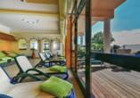 Hotel Christinenhof & Spa in Tauer im Spreewald, Ruhebereich