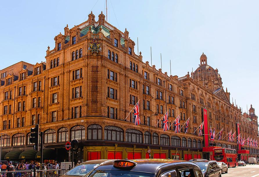 St. Giles Heathrow Hotel in London, Harrods