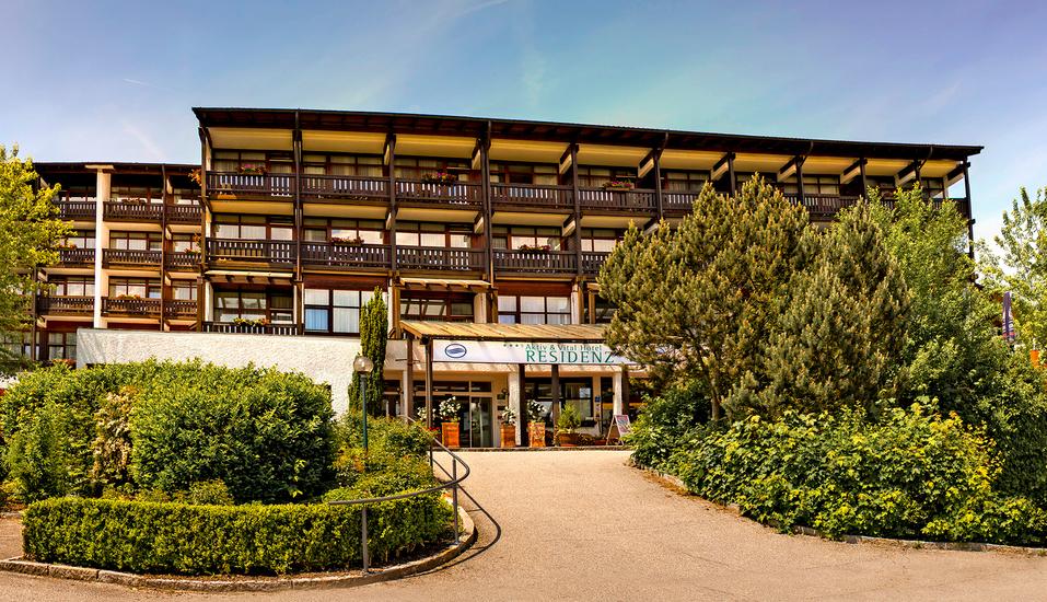 AktiVital Hotel in Bad Griesbach im bayerischen Bäderdreieck, Außenansicht