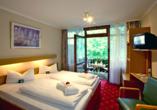 AktiVital Hotel in Bad Griesbach im bayerischen Bäderdreieck, Silencio Zimmerbeispiel