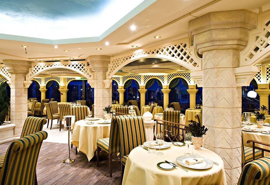 MSC Splendida, Olivo Yacht Club Restaurant