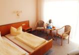 Beispiel eines Doppelzimmers vom Hotel Limbacher Hof
