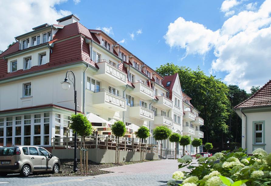 Kaiser S Garten Hotel In Swinemunde Reisenaktuell Com
