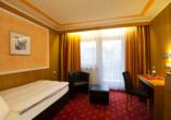 Hotel Pockinger Hof in Pocking in Bayern, Beispiel Einzelzimmer