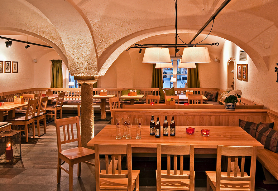 Hotel Pockinger Hof in Pocking in Bayern, Restaurant