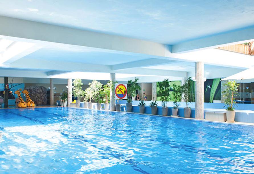 Hotel Sandra Spa Karpacz Riesengebirge Polen, Hallenbad