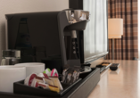 Mercure Hotel Bielefeld Johannisberg, Kaffee und Tee stehen bereit