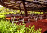 Hotel Mukarnas Spa Resort, Außenterrasse