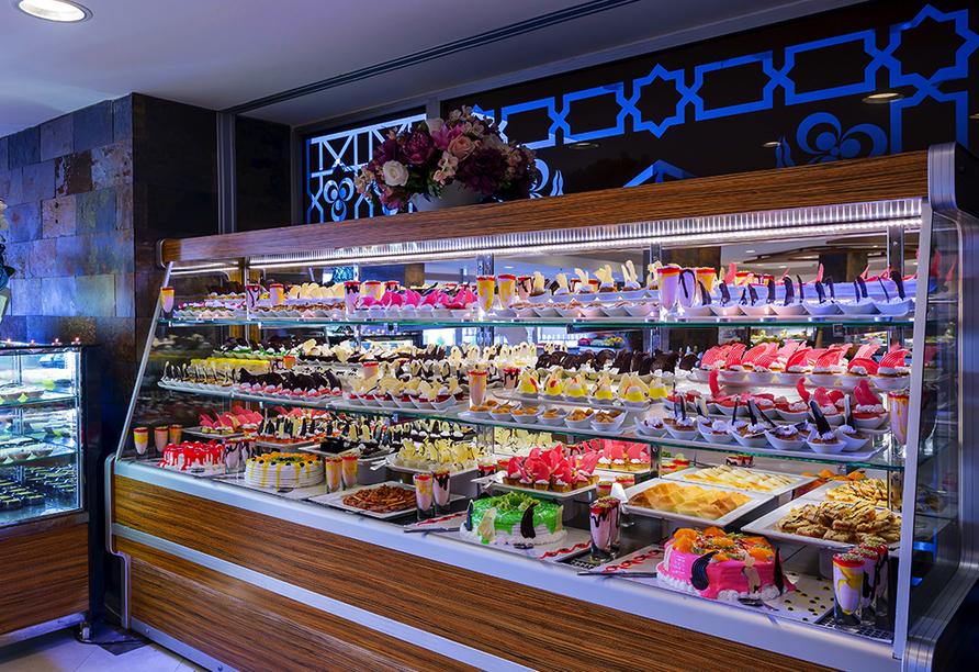 Hotel Mukarnas Spa Resort, Dessert