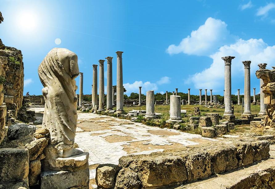 Entdeckerreise durch Nordzypern, Salamis