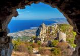 Entdeckerreise durch Nordzypern, Bergfestung von St. Hilarion