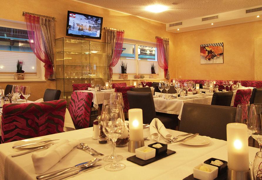 Hotel Almrausch in Saalbach Hinterglemm, Restaurant