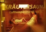 Hotel Almrausch in Saalbach Hinterglemm, Kräutersauna