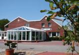 Hotel & Restaurant Nordstern in Neuharlingersiel, Außenansicht