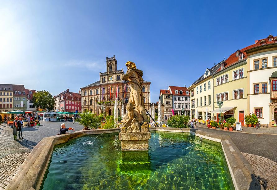 Comfort Hotel Weimar, Marktplatz