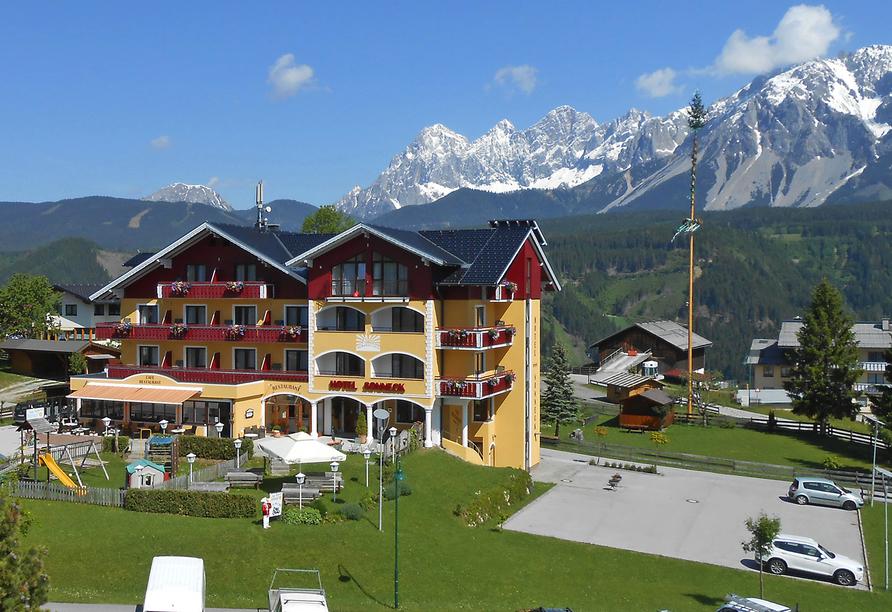 Hotel Sonneck in Rohrmoos Schladming, Aussenansicht