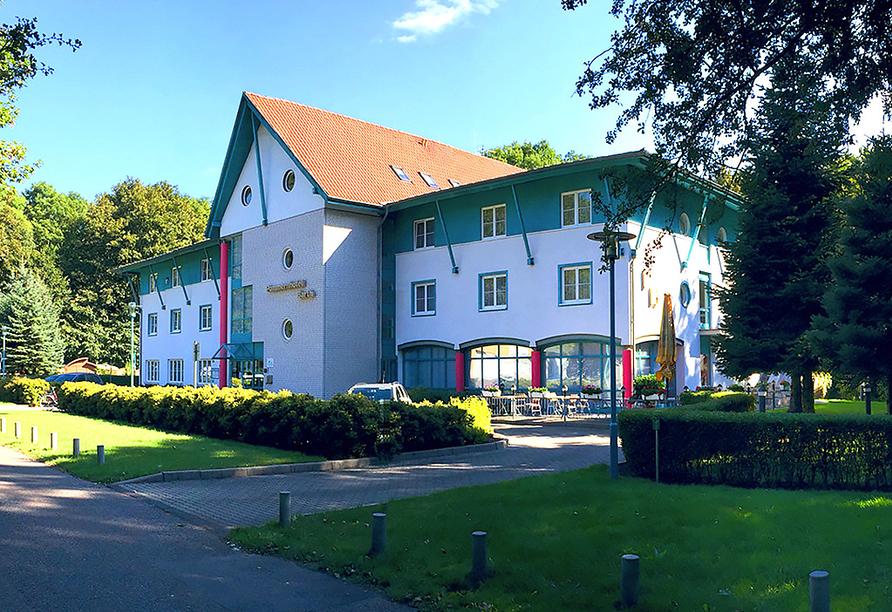 Pommernhotel Barth in Barth, Außenansicht