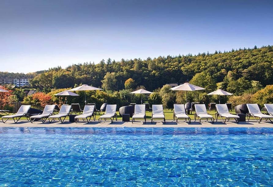 Best Western Plus Hotel Steinsgarten, Lahn-Dill-Bergland-Therme Außenbereich