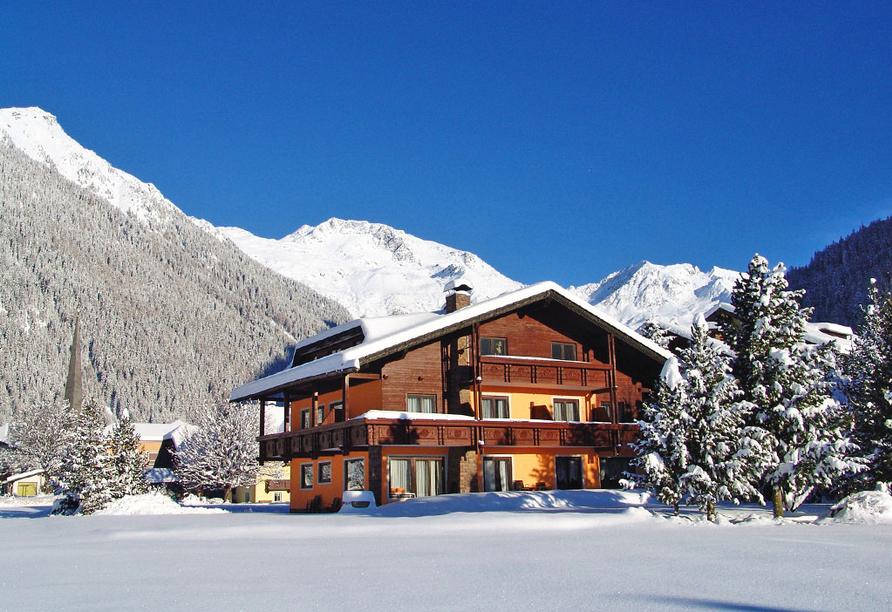 Ferienhotel Alber in Mallnitz, Schneelandschaft