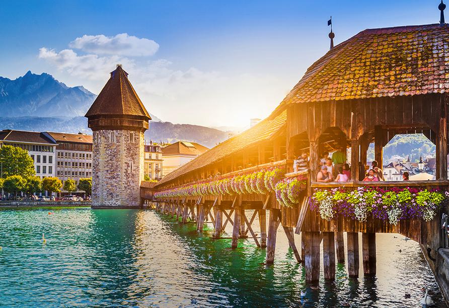 Hotel Central am See & Hotel Frohburg in Weggis, Luzern