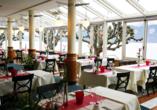 Hotel Central am See & Hotel Frohburg in Weggis, Restaurant